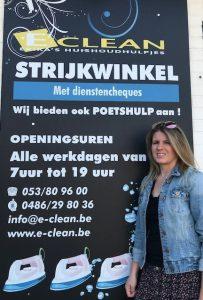 Erika Callebaut van E-Clean