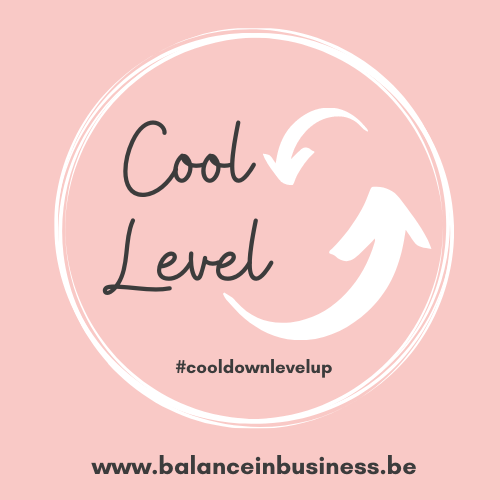 Cool down Level up_roze logo