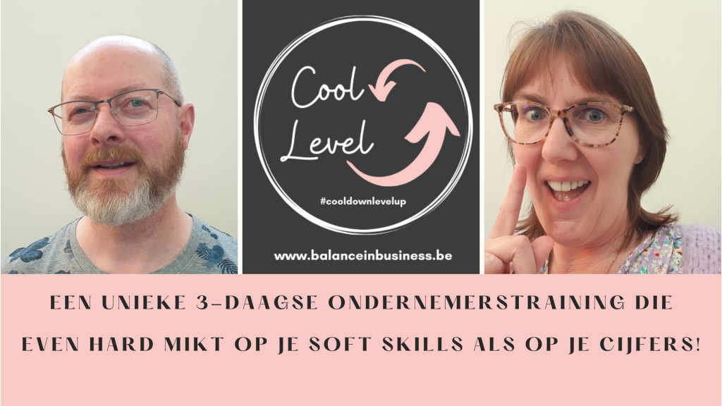 Cool down Level up - Unieke 3-daagse ondernemerstraining   Balance in Business